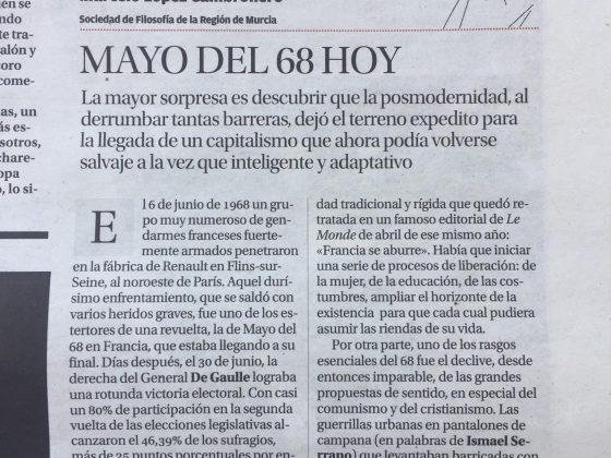 Feliciana Merino y Marcelo López: «Mayo del 68»