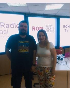 Entrevista en RomRadio con motivo de la XVII SMFRM