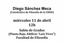 Conferencia de Diego Sánchez Meca sobre Nietzsche, la voluntad de poder y la idea de justicia
