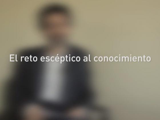 #eidos con Ángel García: El reto escéptico al conocimiento