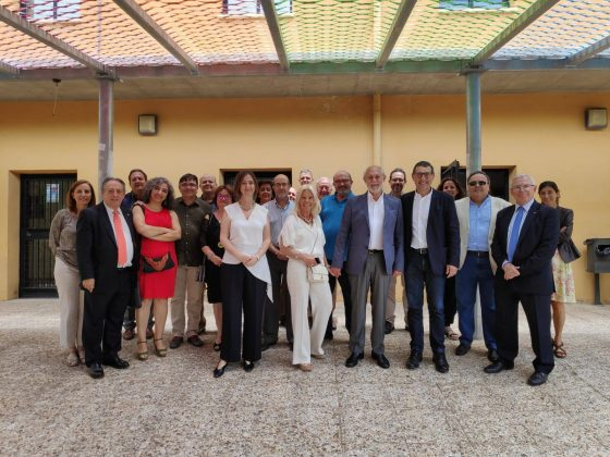 Homenaje a José Lorite por la Facultad de Filosofía